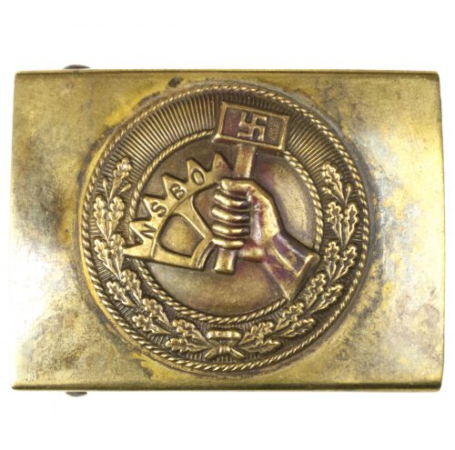 NSBO buckle (Nationalsozialistische Betriebszellenorganisation)