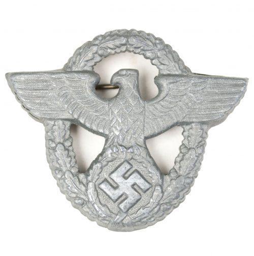 Polizei Schirmmütze adler / Police visor cap insignia