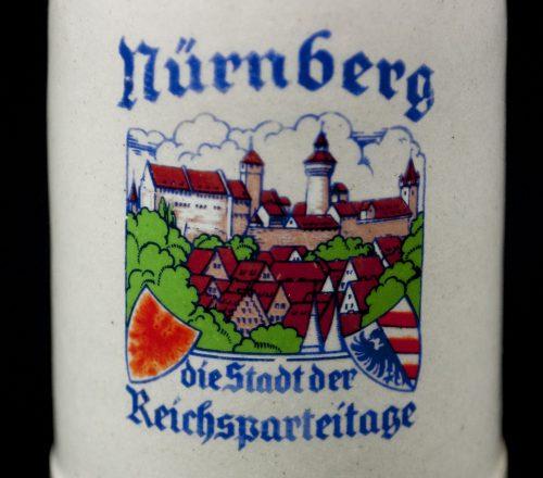 Reichsparteitag miniature beerstein 1/8L