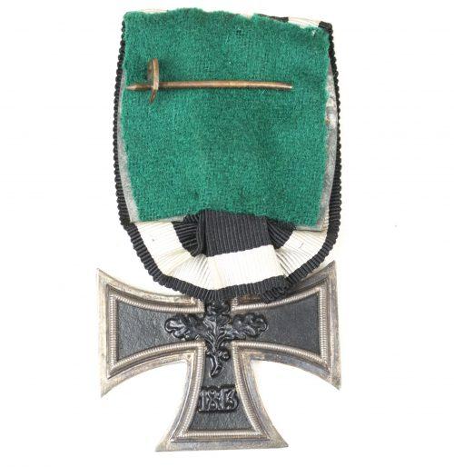 WWI Iron Cross second class single mount (Ek2 Einzelspange)