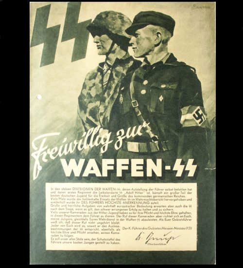 Waffen-SS-recruitment-folder-by-artist-Anton-from-Gebiet-Hessen-Nassau