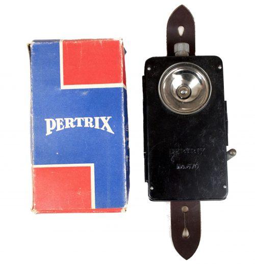 Wehrmacht (Heer) - Pertrix No.679 Taschenlampe / Flashlight with Original box