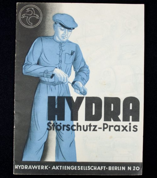 Brochure Hydra Störschutz-Praxis (Hydrawerk Aktiengesellschaft Berlin)