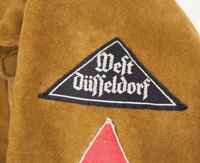 """Bund Deutsche Mädel (BDM) Klettervest """"West Düsseldorf"""""""