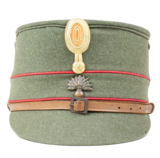 """Dutch Army Military Cap / Infanterie Kepie model 1916 M16 """"grenadier"""" manschappen (laag model)"""