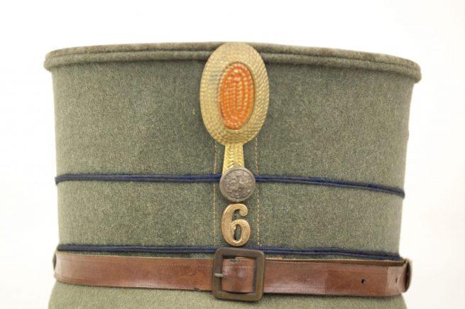 Dutch Army Military Cap / Kepie model 1916 M16 (laag model) Infanterie Regiment 6