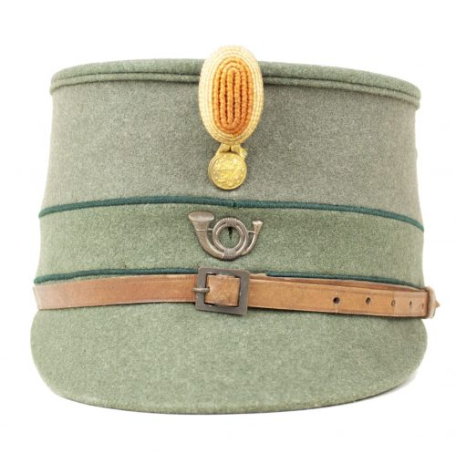 "Dutch Army Military Cap / Kepie model 1916 M16 (laag model) ""Jagers"" (maker J. F. Segers & Zoon - Breda)"