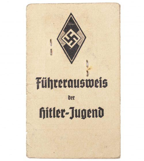 Hitlerjugend (HJ) - Führerausweis der Hitlerjugend