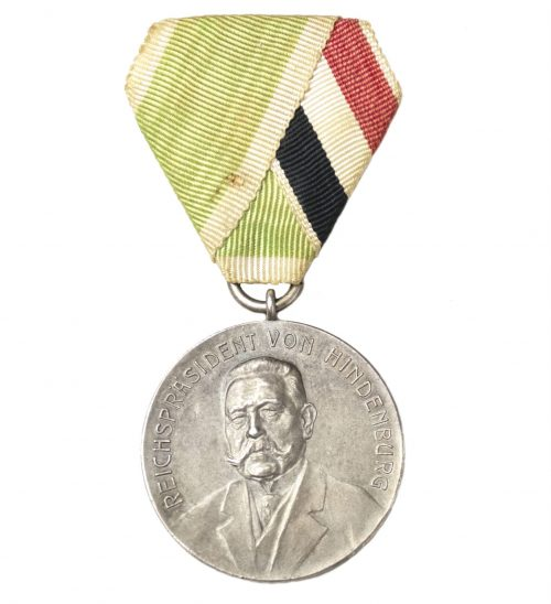Reichspräsident von Hindenburg shooting medal Gau Hildesheim-Nord 1933