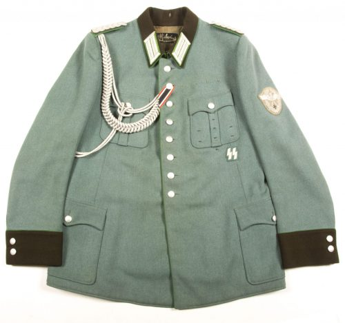 SS-Polizei Major's four pocket tunic (named!)