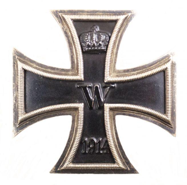 WWI Iron Cross first class (EK1) / Eisernes Kreuz Erste Klasse