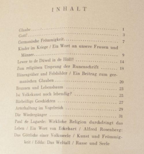 Waffen SS - SS Leitheft, 8 Jahrgang Heft 4 (1942)