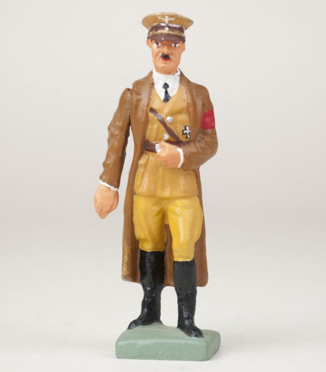 Adolf Hitler Lineol figure with movable arm in mint condition