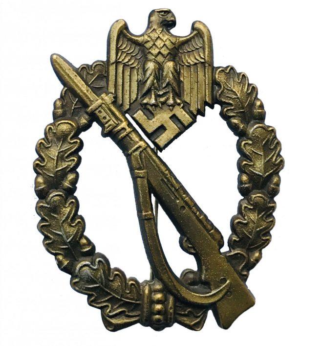 Bronze Infanterie Sturmabzeichen (ISA) / Infantry Assault badge (IAB) - Josef Feix & Söhne (JFS)