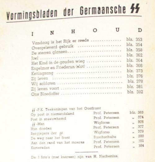 Dutch-SS - SS Vormingsbladen Jrg 3. No.12