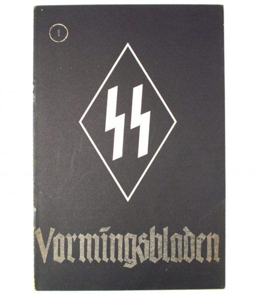 Dutch-SS - SS Vormingsbladen Jrg 4. No.1