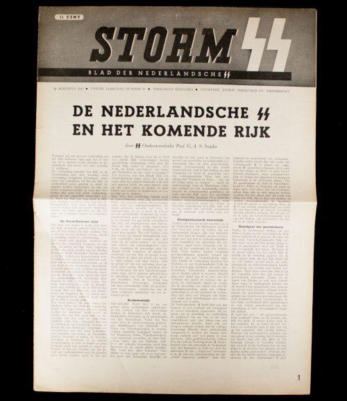 Dutch SS - Storm (Blad der Nederlandsche SS) - 2e Jrg No. 19. (1942)
