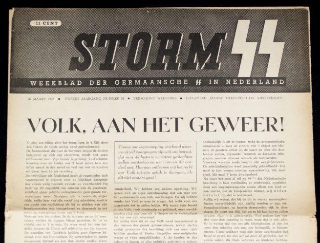 Dutch SS - Storm (Blad der Nederlandsche SS) - 2e Jrg No. 51. (1943)