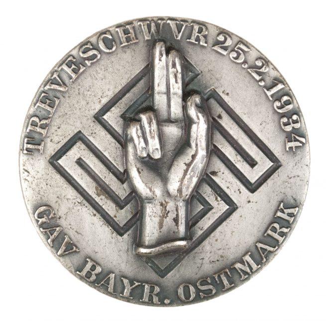 Gau Bayrische Ostmark Treueschwur 25.2.1934