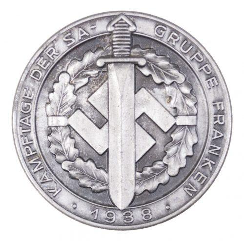 Kampftage der SA-Gruppe Franken 1938 abzeichen