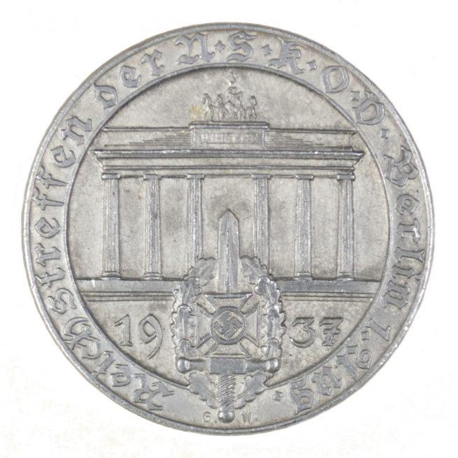 Kreistreffen der NSKOV Berlin 1. Aug 1937
