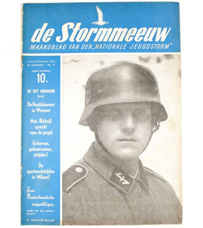(NSB - Jeugdstorm) - De Stormmeeuw 8e Jrg No. 11