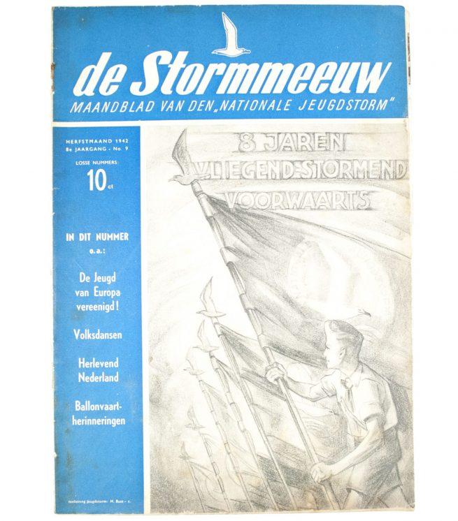 (NSB - Jeugdstorm) - De Stormmeeuw 8e Jrg No. 9