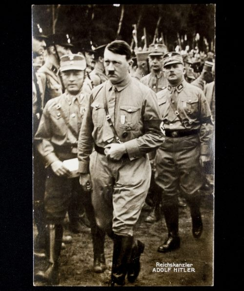 Postcard: Adolf Hitler and Ernst Röhm in Gera's Gauparteitag 6 september 1931