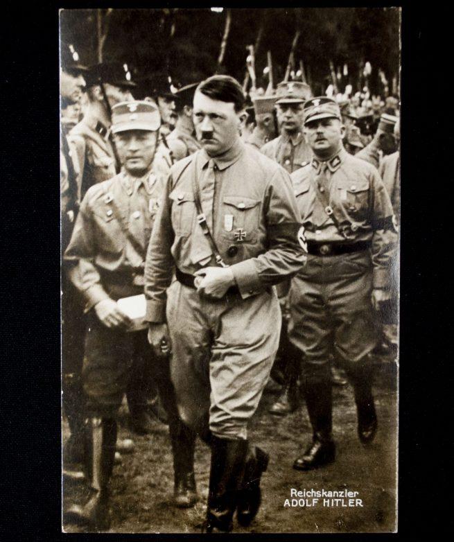 Postcard: Adolf Hitler and Ernst Röhm in Gera's Gauparteitag 6 september 1931