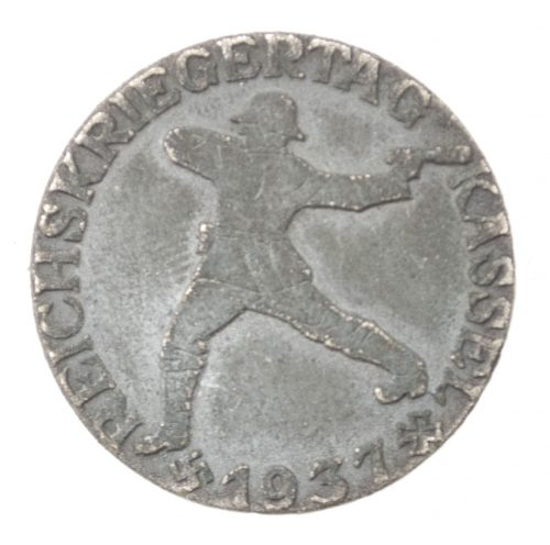 Reichskriegertag Kassel 1937 badge