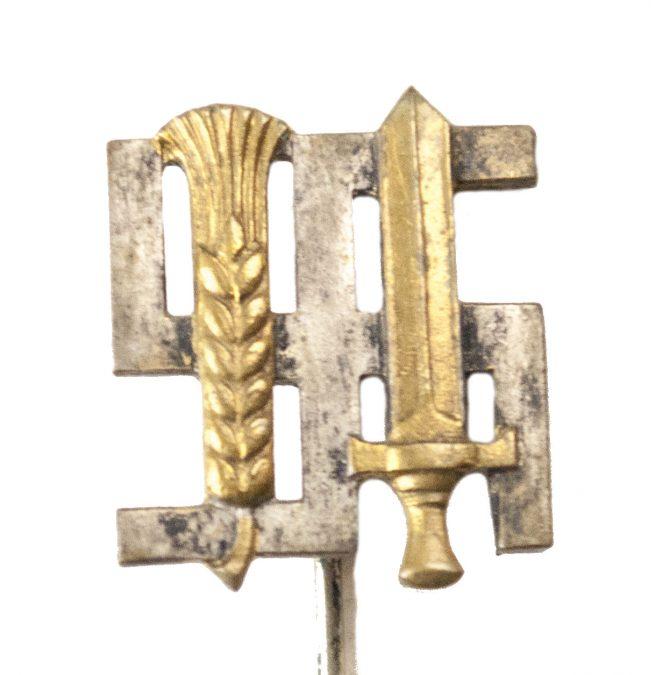 Reichsnährstand mitgliedsabzeichen (maker marked Deschler)