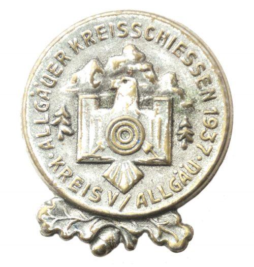 Ällgauer Kreisschiessen Kreis V / Ällgau 1937 abzeichen