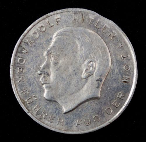 Adolf Hitler Der Führer aus der Not (election coin)