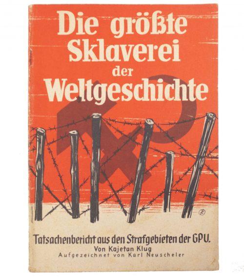 Brochure: Die Grösste Sklaverei der Weltgeschichte