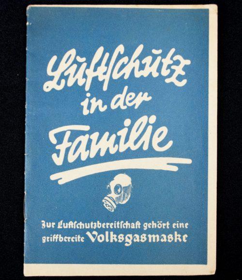 Brochure: Luftschutz in der Familie