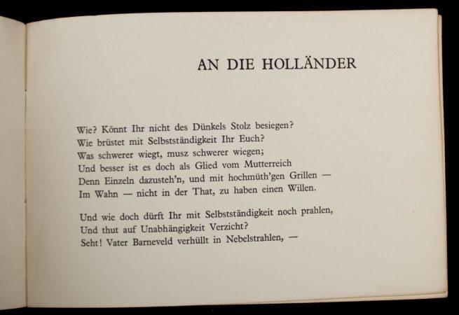 Brochure: NSNAP -An die Holländer Oktober 1814