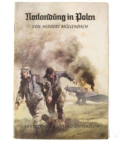 Brochure: Notlandung in Polen