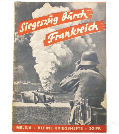 Brochure: Siegeszüg durch Frankreich