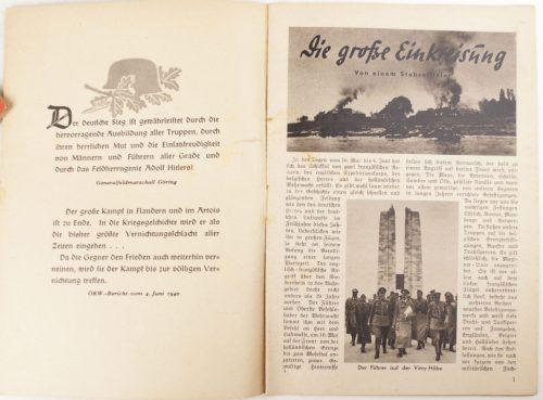 Brochure: Stürm vor Englands Toren