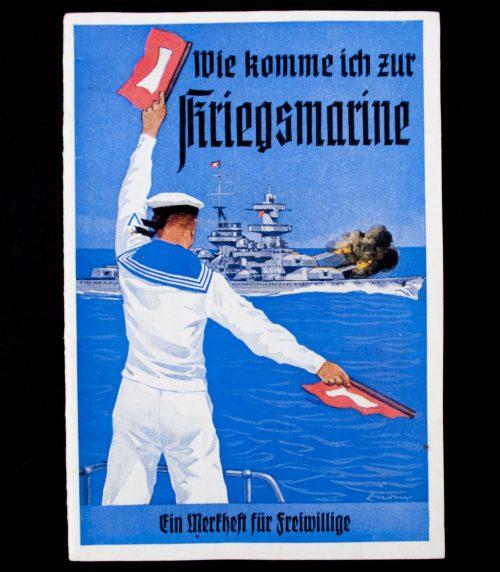 Brochure: Wie Komme ich zur Kriegsmarine