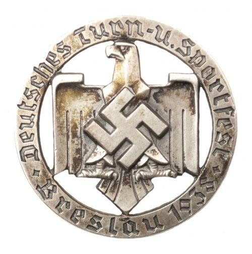 Deutsche Turn-u. Sportfest Breslau 1938 abzeichen