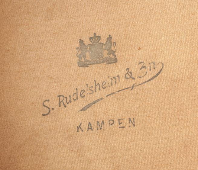 Dutch Army before 1940 / Nederlandse Leger kepie voor 1940 - Onderofficier kepie 4e Regiment