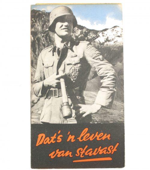 Dutch-SS – Recruitmentfolder / foldable poster