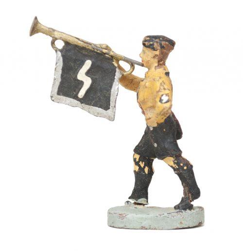 Elastolin Hitlerjugend (HJ) / Deutsche Jugend (DJ) Trumpet player figure