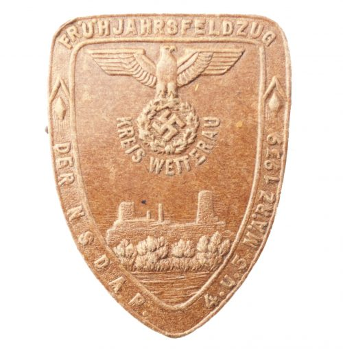 Frühjahrsfeldzug der NSDAP 4.u.5. März 1939 Kreis Wetterau