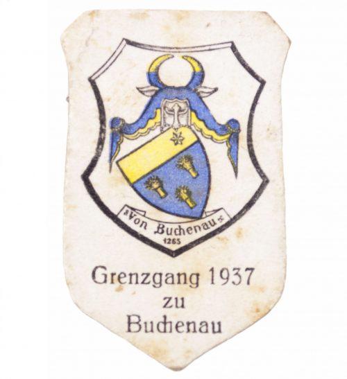 Grenzgang zu Buchenau 1937 abzeichen