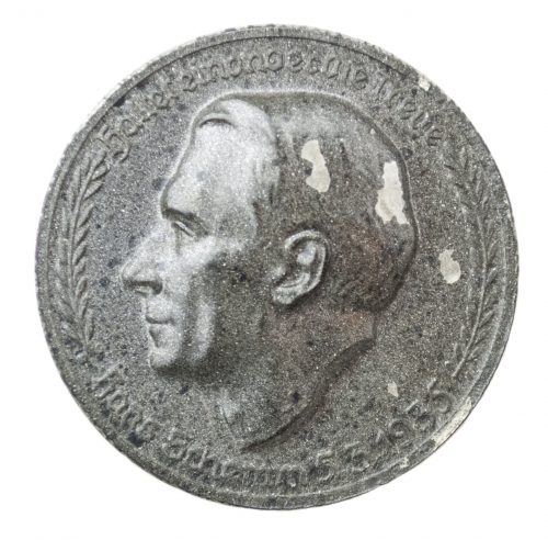 """Hans Schemm 5.3.1935 """"Haltet einander die Treue"""" abzeichen"""