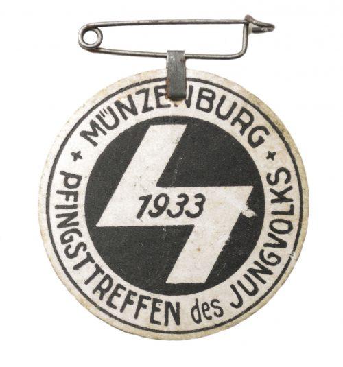 Hitlerjugend (HJ / DJ) Pfingsttreffen des Jungvolks Münzenburg 1933