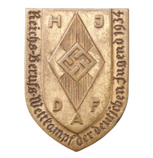 Hitlerjugend (HJ) Reichsberufswettkampf der Deutschen Jugend 1934