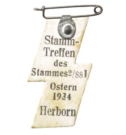 Hitlerjugend (HJ) Stammtreffen des Stammes 2/88I Ostern 1934 Herborn